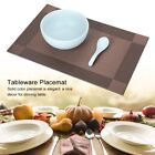 4 Pcs Placemat PVC Dining Table Mat Plate Pads Bowl Pad Coasters Table Cloth Pad