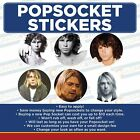 Music Legends & Idols- Replacement for Popsocket Vinyl Decal Sticker Set of 6