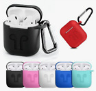 Silicone Anti-lost Holder for AirPods Holder+Apple AirPods Protective Silicone
