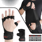 For Men Women Gym Gloves Grips Wrist Wrap Support Weight Lifting Pullup Crossfit image