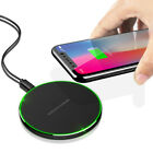 FDGAO Qi Wireless Charging Dock Mat Pad Charger For iPhone XS X 8 Samsung S10+