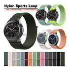 Woven Nylon Sport Loop Watch Band Strap For Samsung Gear S3 Classic Frontier image