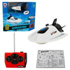 Electric Submarine Remote Control Fish Shape Racing Boat Underwater Sightseeing