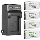 Kastar Battery Wall Charger for Toshiba CR-V3 & PDR-M25 PDR-M60 PDR-M61 PDR-M65