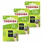 Toshiba 32/64/128GB N203 SD HC SDHC Class 10 UHS-I  Schede di memoria 100MB/s