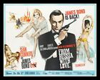 FROM RUSSIA WITH LOVE JAMES BOND SEAN CONNERY FILM POSTER METAL SIGN PLAQUE 021 £4.99 GBP on eBay