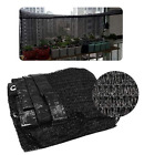Внешний вид - Black 2M/6M 50-60% Sun Shade Cloth,Plant Cover,Garden,Barn Kennel UV Resistant