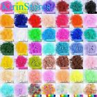 Rubber Bands 600 PCs 24 Clip Refills Bands For Loom Bracelet Kits Rainbow Colour