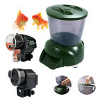 Aquarium Timer Auto Fish Tank Pond Food Feeder Feeding OR 4.25L LCD Display Feed
