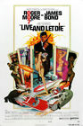 Live and Let Die James Bond Roger Moor Movie Art Silk Poster 12x18 24x36 $9.93 USD on eBay