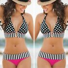 2019 Women Bikini Bandage Swimwear Bandeau Push-Up Padded Bra Swimsuit Beachwear