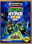 TMNT The Hyperstone Heist - SEGA Genesis - Replacement Case *NO GAME*