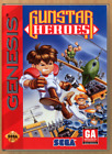 Gunstar Heroes - SEGA Genesis - Replacement Case *NO GAME*