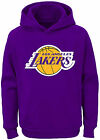 Youth Los Angeles Lakers Primary Logo Tackle Twill Applique Hoodie Sweatshirt on eBay