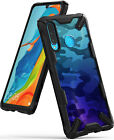 For Huawei P30 Lite Case | Ringke [FUSION-X] Shockproof PC Back TPU Bumper Cover