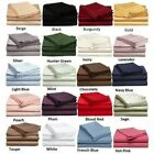 "Soft Fitted Sheet 1000 Thread Count 100% Cotton 20"" Deep Pocket image"