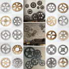 20 Style Retro Vintage Wooden Art Gear Industrial Home Wall Hanging Decor Office