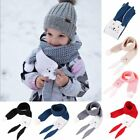 Внешний вид - Soft Rabbit Kids Warm Winter Scarf Baby Toddler Girl Boy Crochet Knitted Scarves