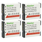 Kastar Replacement Battery Pack for NP-130 & Casio Exilim EX-10 Exilim EX-100