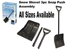 Snow Shovel Compact Kit ( 3 Pieces) An Essential Motoring Accessory...