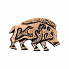 Creative Pewter Designs Celtic Boar Pig Hog Lapel Pin or Magnet, G004