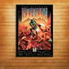 Doom Retro Game Cover Signatures Console 90's Print Poster A4 A5 A6 A3 -1055
