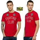 "T-shirt uomo EVERLAST maglietta ""fighting club"" boxing legend rosso manica corta"