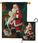 Santa's List - Impressions Decorative Flag Collection - HG114088