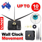 Silent Diy Quartz Movement Wall Clock Motor Mechanism Long Spindle Repair Parts