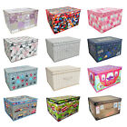 'Storage Box Bag Clothes Laundry Bedding Toy Kids Chest Bedroom Large Under Bed