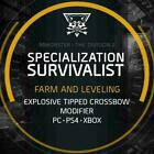Boosting Service: The Division 2 Survivalist Character Specialization Unlock