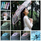 Used, Transparent Umbrella Cherry Blossom Mushroom Apollo Sakura 3 Fold Umbrella Hot for sale  Canada