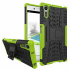 For Sony Phones Case Hybrid Shockproof Hard Stand Rugged Heavy Duty Armor Cover
