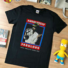 Details about  Vtg rare - T shirt - 90s Absolutely Fabulous - top black reprint  image