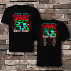 Rob Zombie AND marlin manson TWINS OF EVIL tour 2019 T-shirt tee all size image