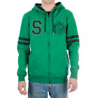 Harry Potter Slytherin Hogwarts House Zip Up Hoodie NEW Clothing