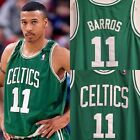 Rare Dana Barros Boston Celtics Retro Throwback Stitched Jersey Bird Kyrie Celts on eBay