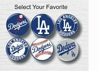 "Los Angeles Dodgers Buttons 1-1/4"" MLB Team Hat T-Shirt Jersey Pins Badge Patch on Ebay"