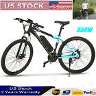 27in Electric Bike E-Mountain Bicycle Damping Cycling Sport 24-Speed 350W Brand