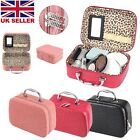 Large Make Up Nail Tech Cosmetic Box Jewellery Vanity Storage Case Bag Travel