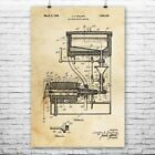 Ice Cream Maker Poster Print Ice Cream Gifts Soda Shop Ice Cream Machine