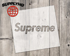 Supreme mylar stencil   reusable   for wood food t shirt shoes painting airbrush
