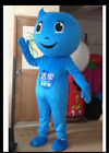 Water Droplets Mascot Costume Cosplay Party Game Dress Outfit Halloween Adult