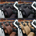 Universal 5-seats Car Interior Chair Cushion Seat Covers Pad PU Leather Mat BMG on eBay