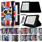 'Leather Stand Flip Cover Case For Amazon Kindle 4/5//7/8/9 Paperwhite 1/2/3/4