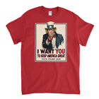 Trump T-Shirt - I Want You To Keep America Great - Vote Trump 2020 image