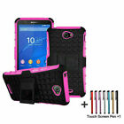 For Sony Xperia Z3 Z5 Mini M5 Rubber Rugged Heavy Duty Stand Military Case Cover