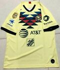 2019-2020 Club America Home soccer Jersey And A18 LIGA MX CAMPEON patch