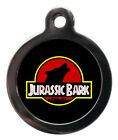 Pet ID tag JURASSIC BARK Personalised Tag or Keyring 2 sizes