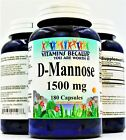D-Mannose 1500 mg | Urinary Tract Health | Prevent UTI | Bladder Control 180 Cap $25.95 USD on eBay